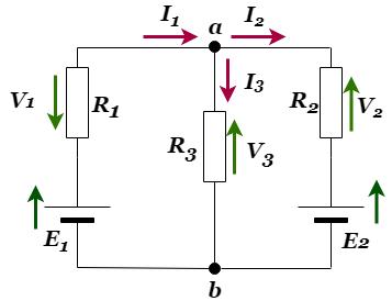 重ね合わせの理:電圧降下の合成抵抗