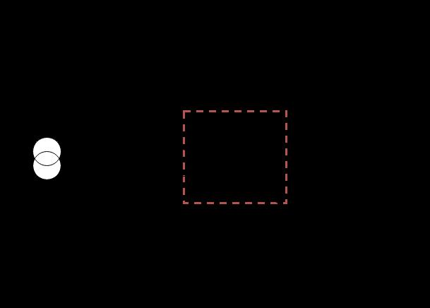 比率差動継電器の電気回路